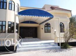 5 bedroom semi furnished villa with private pool