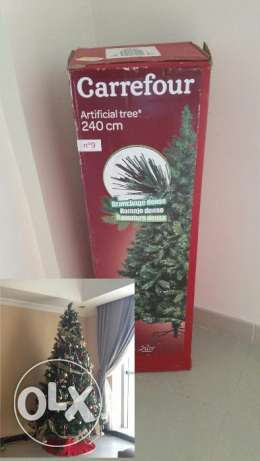 Artificial festive tree