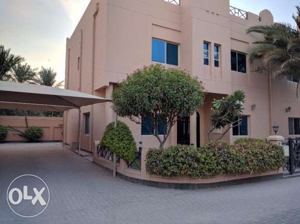 3 Bedroom semi furnished villa with excellent common facility -