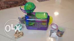 CritterTrail Hamster Cage with All Accessories