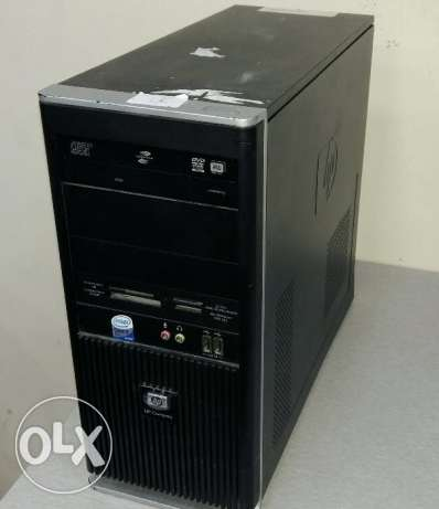 Hp branded pc core 2 DUO /DUAL CORE/HP keyboard, mouse/new dvd writer الرفاع -  3