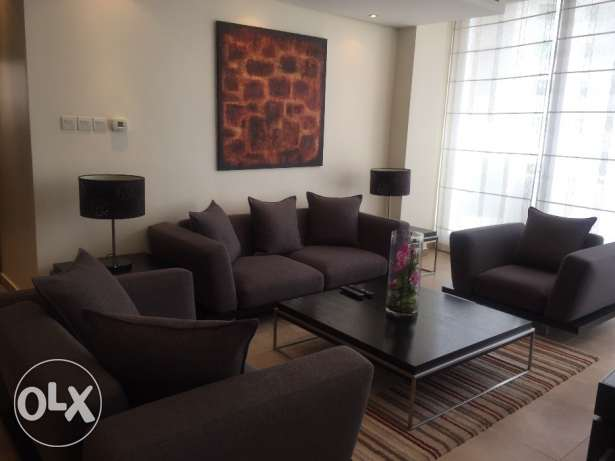 Spacious Two Bedrooms Fully Furnished Apartment in Sanabis