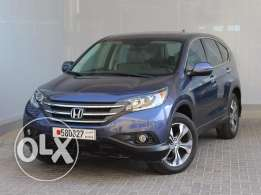 Honda CR-V EXi Cloth 5Dr 2.4L 5Dr Auto 2014 Grey color For Sale
