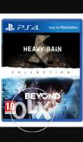 Exchange beyond two souls+Heavy rain with Uncharted Nathan drak collec