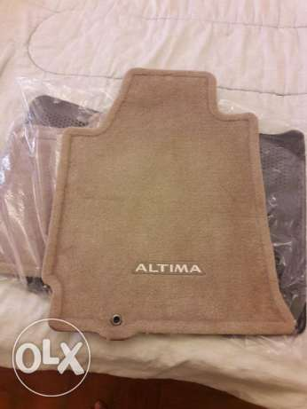 For Sale - Nissan Altime Floor Mats, ORIGINAL