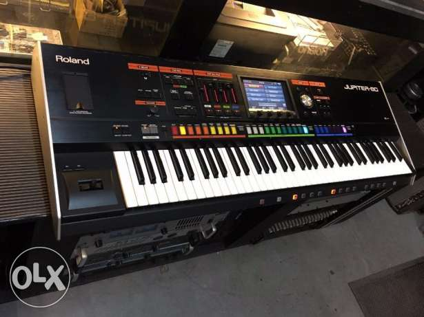 Roland Jupiter 80 keyboard 76 Key