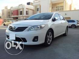 Corolla 1.8 xli 2012 white colour for urgent sale