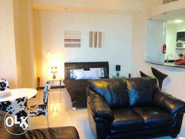 Luxury studio for rent in Juffair Sea view.