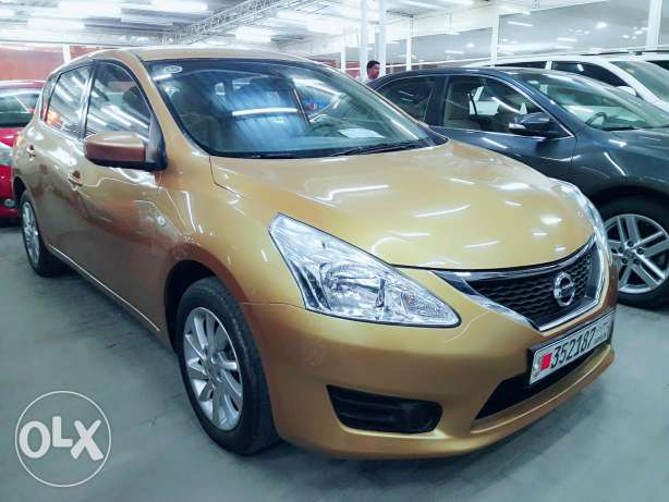 Nissan tiida sv 2014 model for sale