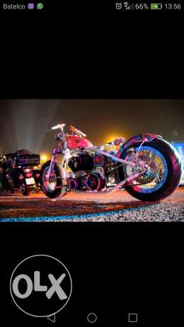 Custom built motorcycle bobber 2010