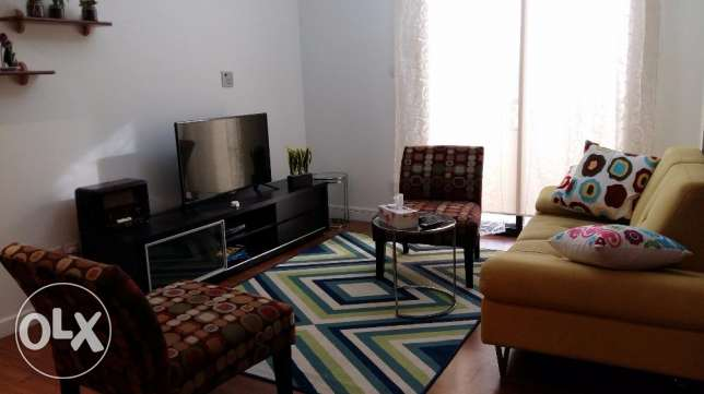 Great deal 1 bedroom apartment fully furnished facing Sea & beach View