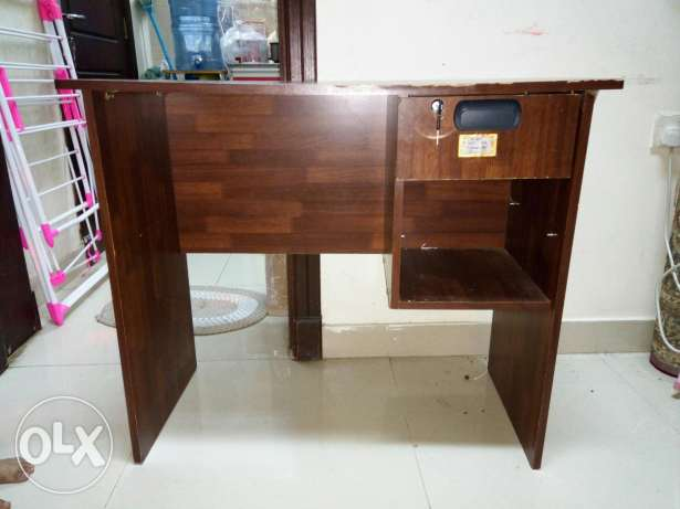 Fridge, kitchen cupboard ,cycle gas stove,study table hi