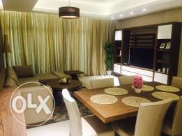 Brand new Two bedrooms apartment for rent in Amwaj-Island.