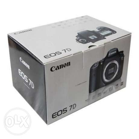 For Sale Canon 7D Full Kit + Extras In Mint Condition