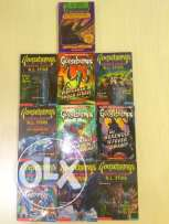10 Goosebumps Books&MAD LIBS