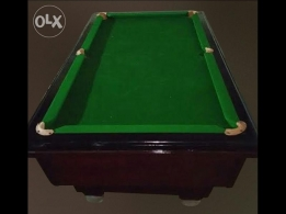 pool billiard table for sale made in bahrain in good condition
