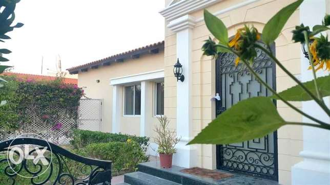 SRA28 3br semi furnished villa with private pool in saar prime lctn