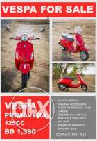 Excellent condition Vespa Primavera For Sale