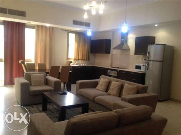 2 bedroom furnished apartment for rent in Adiliya rent 550