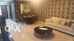 2br flat for rent in amwaj island [stylish design]