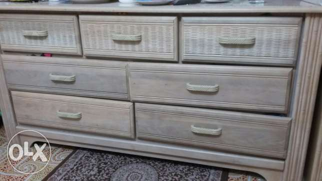 Mini cabinet with 7drawer and mirror
