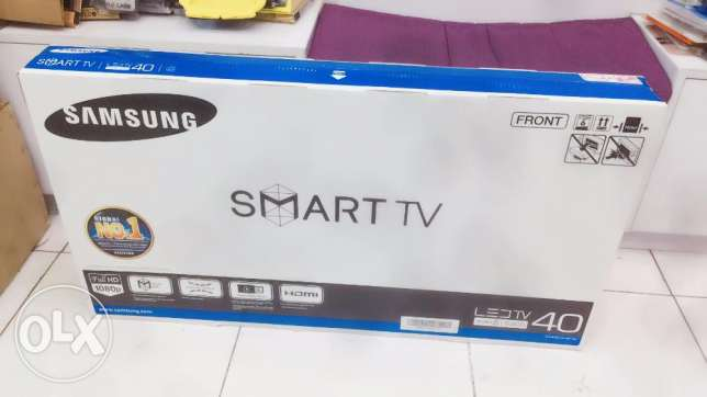 "unpacked samsung smart led 40"" tv"
