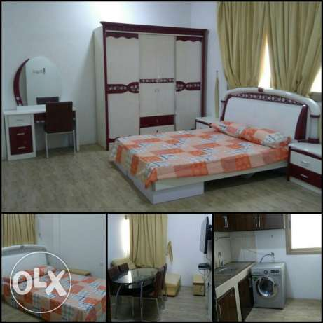 Adliya . 2 BHK - Small Hall - Fully Furnished- Rent BD 400 Inclusive.