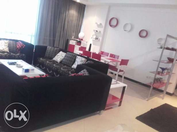 Styled up Two Bedrooms Fully Furnished Apartment in Juffair