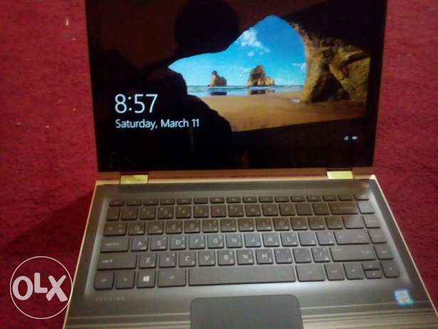 Hp pavilion 360 convertible + touch screen