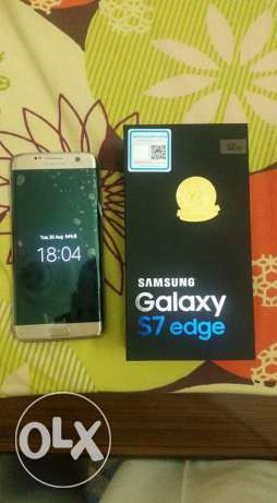 Samsung S7 Edge for sale in excellent condition, with 1 year 8 month w
