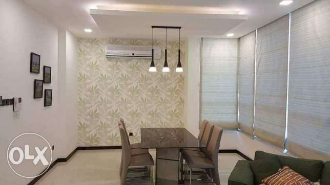 New Hidd: 2 bedroom fully furnished plus maid room flat for rent