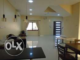 4 Bedrooms semi furnished villa just 3 years old for rent in Barbar.