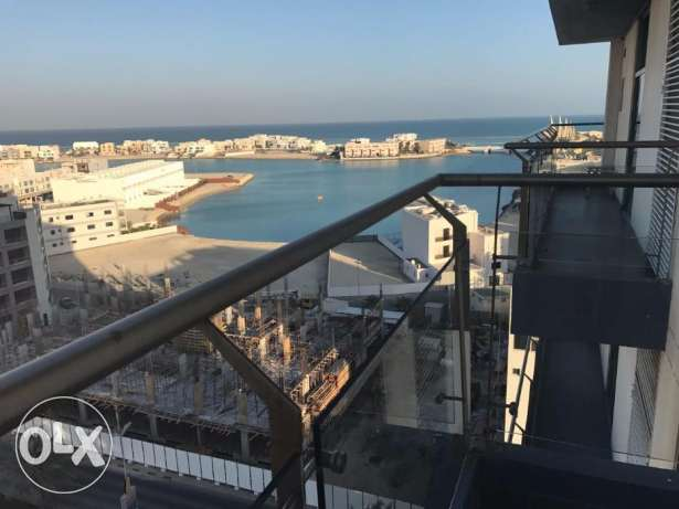 One Bedroom in Amwaj / Balcony / Sea view