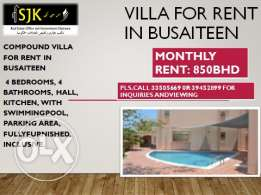 Villa for rent Busaytin