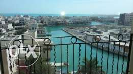 Spacious sea view semi-furnished 3 bedroom apartment in Amwaj