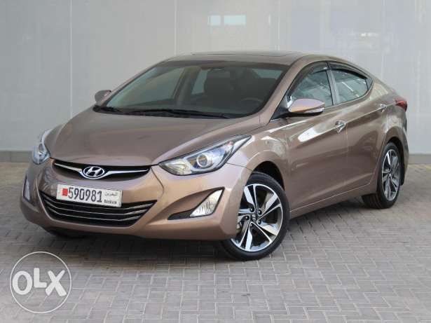 Hyundai Elentra 2.0L Full Option 2015 Brown For Sale