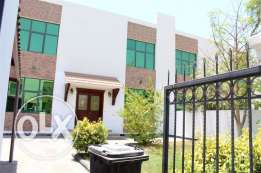 SNA1 4br un furnished villa with private garden in SANAD