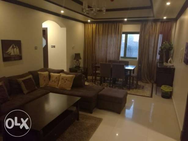 Lovely Fully Furnished 2 Bedroom apartment for rent at Busaiteen