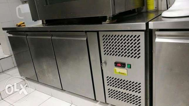 Blast Freezer and chiller saldi brand table top