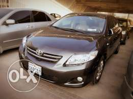 Toyota Corola 1.8 same showroom condition 2010 model for sale