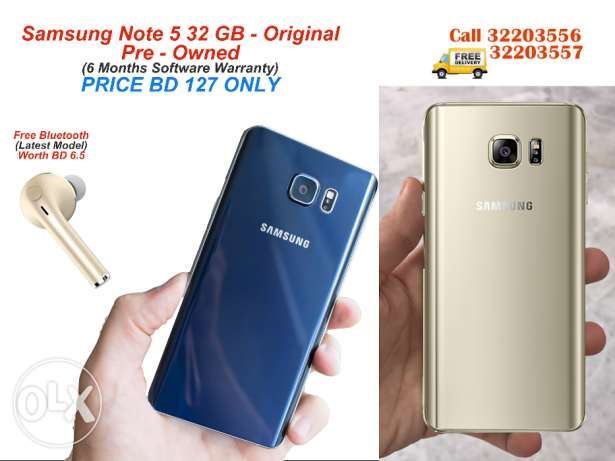 Samsung Note 5 Refurb 100% Original like Brand New