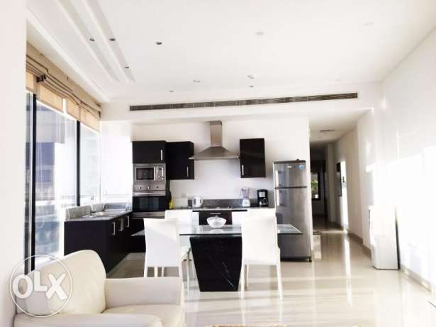 1 Bedroom High Floor City view Furnished Apartment For Rent in Juffair