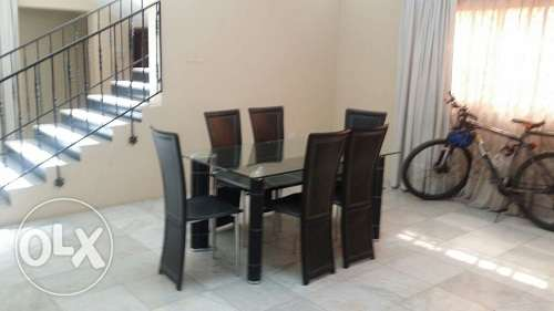 Homey 3 Br full furnish villa at Juffair with private pool BD.1100 Inc جفير -  1