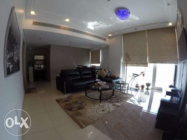 Single bedroom with Superb View in Juffair جزر امواج  -  1