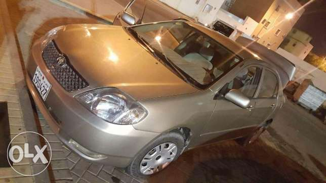 Toyota crolla for sale