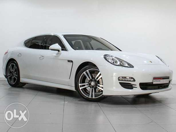 """Porsche Panamera S 2013MY """"Approved"""" White"""