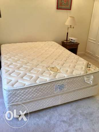 USA brand Queen size Box spring BED