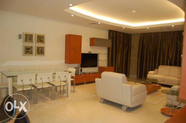 JUFFAIR-FURNISHED LUXURY APARTMENT-2bedroom,3bath,hall,lift,kitchen