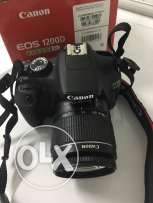 Canon DSLR Camera 1200D With Full Box Bag SD Card