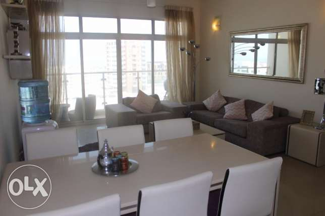 Wonderful 2 BR apartment in Amwaj / Balcony